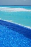 Strand in Cancun Mexiko Stockfoto
