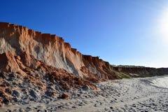 Strand Canoa Quebrada lizenzfreie stockfotografie