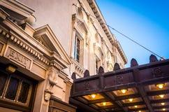 The Strand-Capitol Theatre in downtown York, Pennsylvania. The Strand-Capitol Theatre in downtown York, Pennsylvania Stock Photo