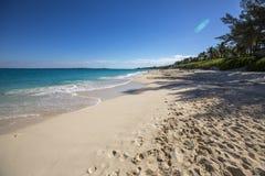 Strand in Caraïbische overzees Royalty-vrije Stock Afbeelding
