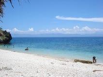 Strand Cebu Phils. Royalty-vrije Stock Afbeeldingen