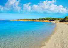 Strand Conca Verde an einem klaren Sommertag Stockfotos