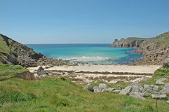 Strand in Cornwall, Engeland Royalty-vrije Stock Fotografie
