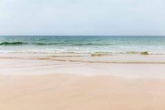 Strand Cornwall England för St Agnes Arkivfoto