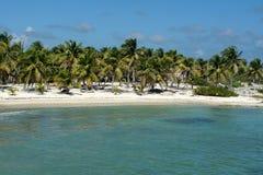 Strand in Costa Maya, Mexico Royalty-vrije Stock Fotografie