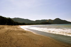 Strand in Costa Rica Royalty-vrije Stock Afbeelding