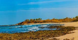 strand Costa Rica Royaltyfria Foton