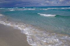 strand cuba Royaltyfri Bild
