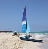 Strand in Cuba Royalty-vrije Stock Afbeeldingen