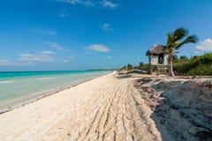 Strand Cuba Royalty-vrije Stock Afbeeldingen