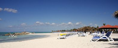 Strand de Bahamas Stock Foto