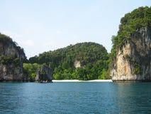 Strand in de Filippijnen. Royalty-vrije Stock Foto