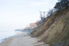 Strand de overzeese herfst Stock Foto