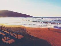 strand de overzeese zomer Royalty-vrije Stock Afbeelding