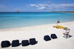 Strand in den Bahamas lizenzfreie stockbilder