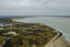 Strand an der Küste stockbild