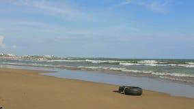 Strand in der Seite, die Türkei stock footage