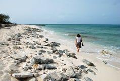 Strand der Steine Stockfotos