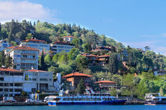 Strand des Bosphorus Stockfotografie