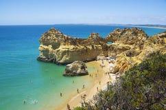 Strand des drei Brüder Praia-DOS Tres Irmaos lizenzfreie stockfotografie