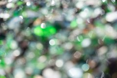 Strand des Glaskiesels Stockfotografie