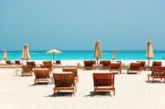 Strand des Luxushotels Stockbild