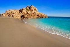 Strand Des Mrz Playa Illot Del Torn Ametlla lizenzfreies stockbild