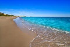 Strand Des Mrz Playa Illot Del Torn Ametlla lizenzfreie stockfotografie
