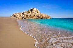 Strand Des Mrz Playa Illot Del Torn Ametlla stockfotos