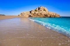 Strand Des Mrz Playa Illot Del Torn Ametlla stockfotografie