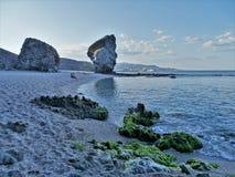 Strand des Muertos von Carboneras Almeria Andalusia Spain stockfoto