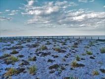 Strand des Muertos von Carboneras Almeria Andalusia Spain lizenzfreie stockfotografie