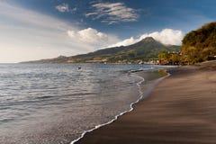 Strand des Saint Pierre, Martinique Stockfotografie