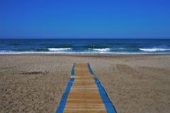 Strand des San Miguel cabo Des Gata Nijar Almeria Andalusia Spain lizenzfreies stockbild