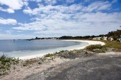 Strand die bij Rottnest-Eiland leven royalty-vrije stock foto's