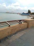 Strand of Dok stock fotografie