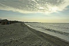 Strand in Duitsland Royalty-vrije Stock Afbeeldingen