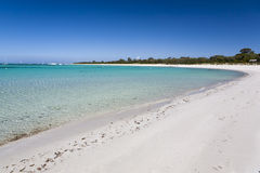 Strand in Dunsborough Royalty-vrije Stock Afbeeldingen