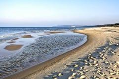 Strand durch die Ostsee Polen, Sommerzeit Stockfotos