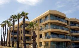 Strand-Eigentumswohnungen Lizenzfreie Stockfotos