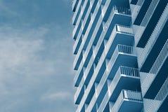 Strand-Eigentumswohnungen Stockbilder