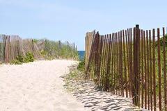 Strand-Eingang Lizenzfreie Stockbilder