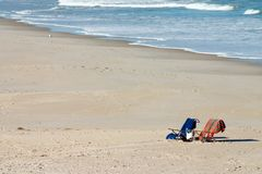Strand-Einladung Lizenzfreies Stockfoto