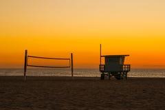 Strand-Einsamkeit Lizenzfreies Stockbild
