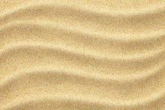 Strand- eller ökensandbakgrund arkivfoton