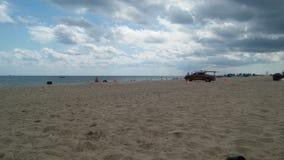 Strand en Badmeester Stock Afbeelding