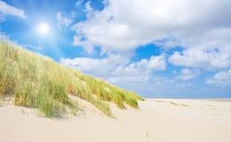 Strand en duinen Royalty-vrije Stock Fotografie