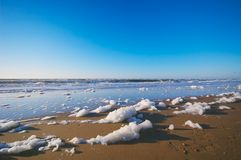 Strand en oceaan royalty-vrije stock foto