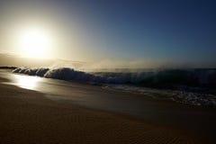 Strand en oceaan royalty-vrije stock afbeeldingen