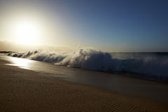Strand en oceaan royalty-vrije stock foto's